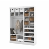 "Bestar Pur by Bestar 61"" Storage kit in White"