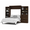 "Pur 126"" Queen Wall bed kit in Chocolate"