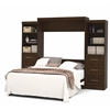 "Pur 115"" Queen Wall bed kit in Chocolate"