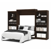 "Pur 136"" Queen Wall bed kit in Chocolate"