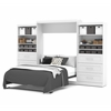 "Pur 136"" Queen Wall bed kit in White"