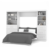 "Bestar Pur by Bestar 120"" Full Wall bed kit in White"