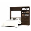 "Pur 95"" Full Wall bed kit in Chocolate"