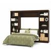 "Pur 109"" Full Wall bed kit in Chocolate"