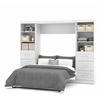 "Pur 109"" Full Wall bed kit in White"
