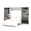"Pur 131"" Full Wall bed kit in White"