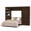 "Pur 120"" Full Wall bed kit in Chocolate"