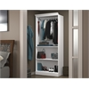 "Bestar Versatile by Bestar 36"" Closet storage shell in White"