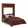Bestar Versatile by Bestar 70'' Queen Wall bed in Tuscany Brown