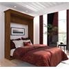 Bestar Versatile by Bestar 70'' Queen Wall bed in Tuscany Brown
