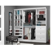 Bestar Versatile by Bestar 86'' Storage kit in White