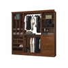 Bestar Versatile by Bestar 86'' Storage kit in Tuscany Brown