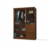 Bestar Versatile by Bestar 61'' Storage kit in Tuscany Brown