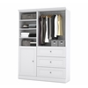 Bestar Versatile by Bestar 61'' Storage kit in White