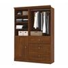 Bestar Versatile by Bestar 61'' Storage kit in Tuscany Brown