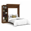 Versatile 92' Queen Wall bed kit in Tuscany Brown