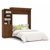 Bestar Versatile by Bestar 92'' Queen Wall bed kit in Tuscany Brown