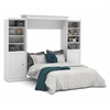 Bestar Versatile by Bestar 115'' Queen Wall bed kit in White
