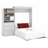 Bestar Versatile by Bestar 101'' Queen Wall bed kit in White