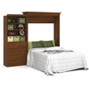 Bestar Versatile by Bestar 101'' Queen Wall bed kit in Tuscany Brown