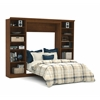 Versatile 109' Full Wall bed kit in Tuscany Brown