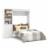 Bestar Versatile by Bestar 84'' Full Wall bed kit in White