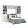 Bestar Versatile by Bestar 109'' Full Wall bed kit in White