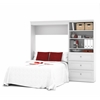 Bestar Versatile by Bestar 95'' Full Wall bed kit in White