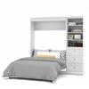Bestar Versatile by Bestar 84'' Full Wall bed kit in White