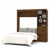 Versatile 84' Full Wall bed kit in Tuscany Brown