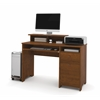 Bestar Legend computer workstation in Tuscany Brown