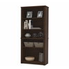 Prestige + modular bookcase in Chocolate