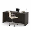 "Embassy 66"" Executive desk in Dark Chocolate"