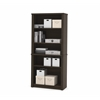 Bestar Embassy modular bookcase in Dark Chocolate