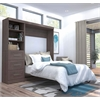 "Pur 84"" Full Wall bed kit in Bark Gray"