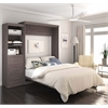 """Pur 90"""" Queen Wall bed kit in Bark Gray"""