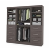 "86"" Storage kit in Bark Gray"