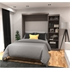 """90"""" Queen Wall bed kit in Bark Gray"""