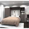 "126"" Queen Wall bed kit in Bark Gray"