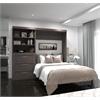 "95"" Full Wall bed kit in Bark Gray"