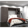"120"" Full Wall bed kit in Bark Gray"