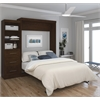 "90"" Queen Wall bed kit in Chocolate"