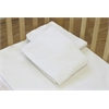 Fitted Sheet for Compact Crib Mattress, White