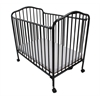 Mini/Portable/Compact Crib, Black