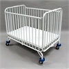 Full Size Metal Holiday Crib, White