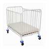 Deluxe Holiday Crib, White