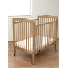 L.A. Baby The Little Wood Crib – Natural, Natural