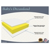 LA Baby Baby's Dreamland Mattress, White