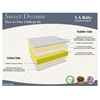 LA Baby Sweet Dreams 2 in 1 Orthopedic Mattress, White