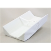 Commercial Grade Changing Pad with Extra High Sides 32'' long, White